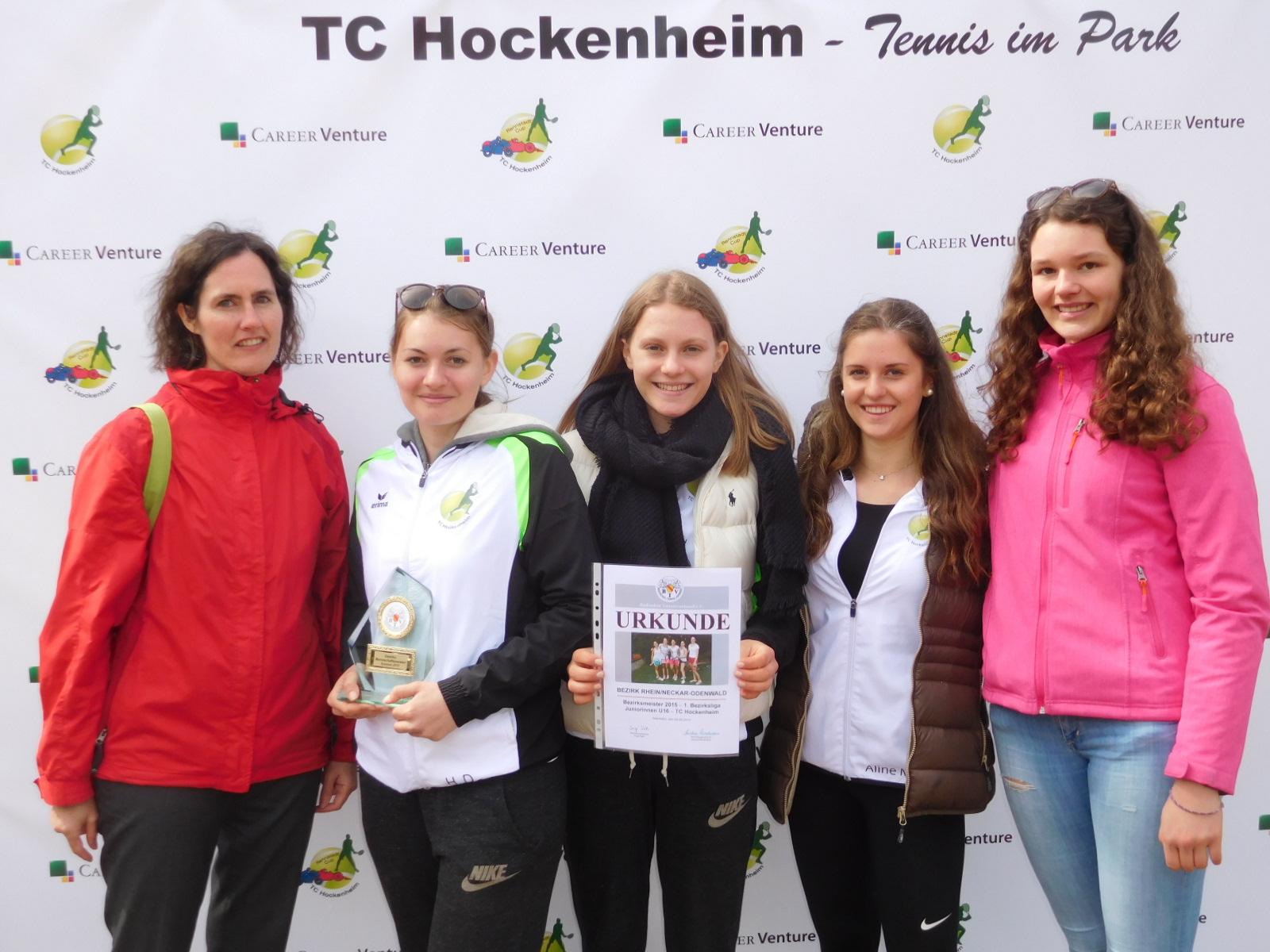 TCH U16w Bezirk smeister