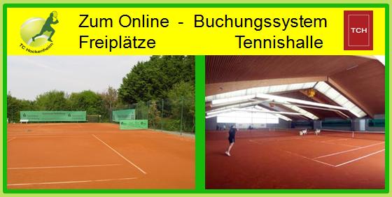 Bild Onlinebuchung Freiplätze / Halle