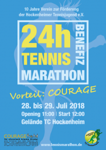 24h Tennis Benefiz Marathon