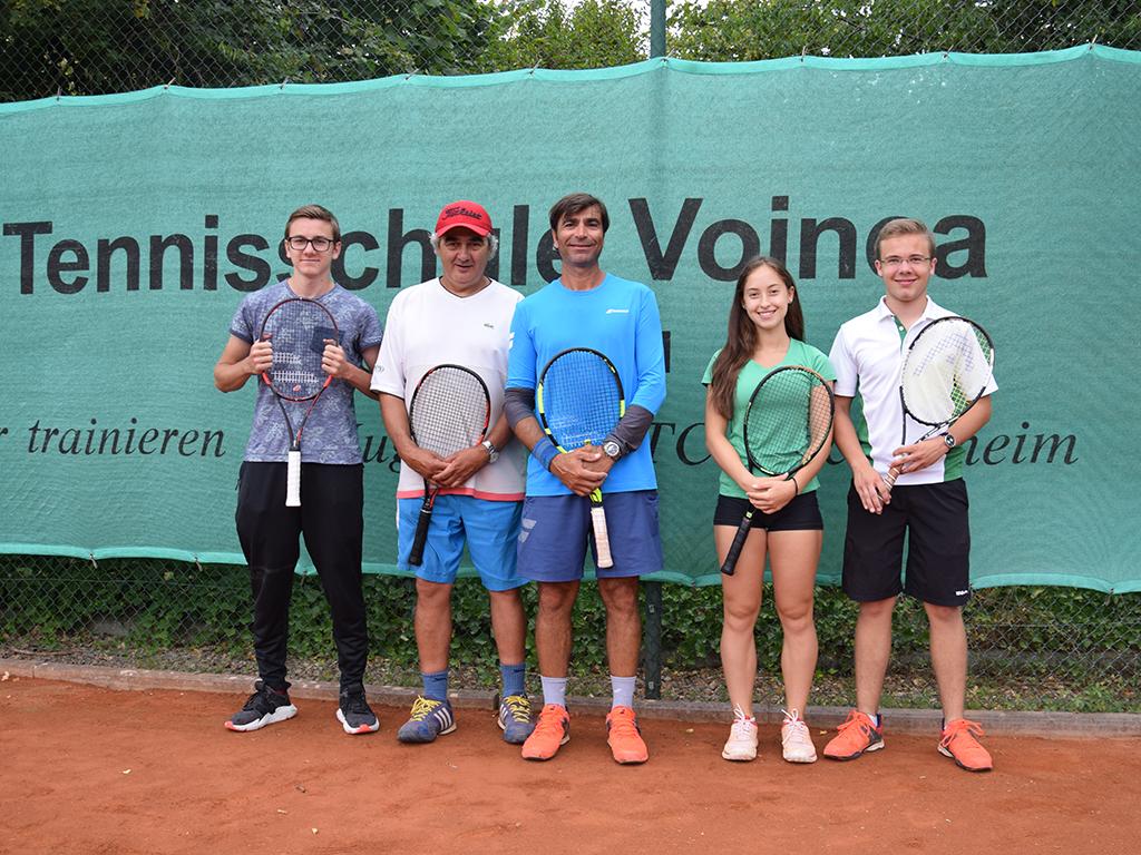 Tennisschule Marian Voinea Trainer 2018