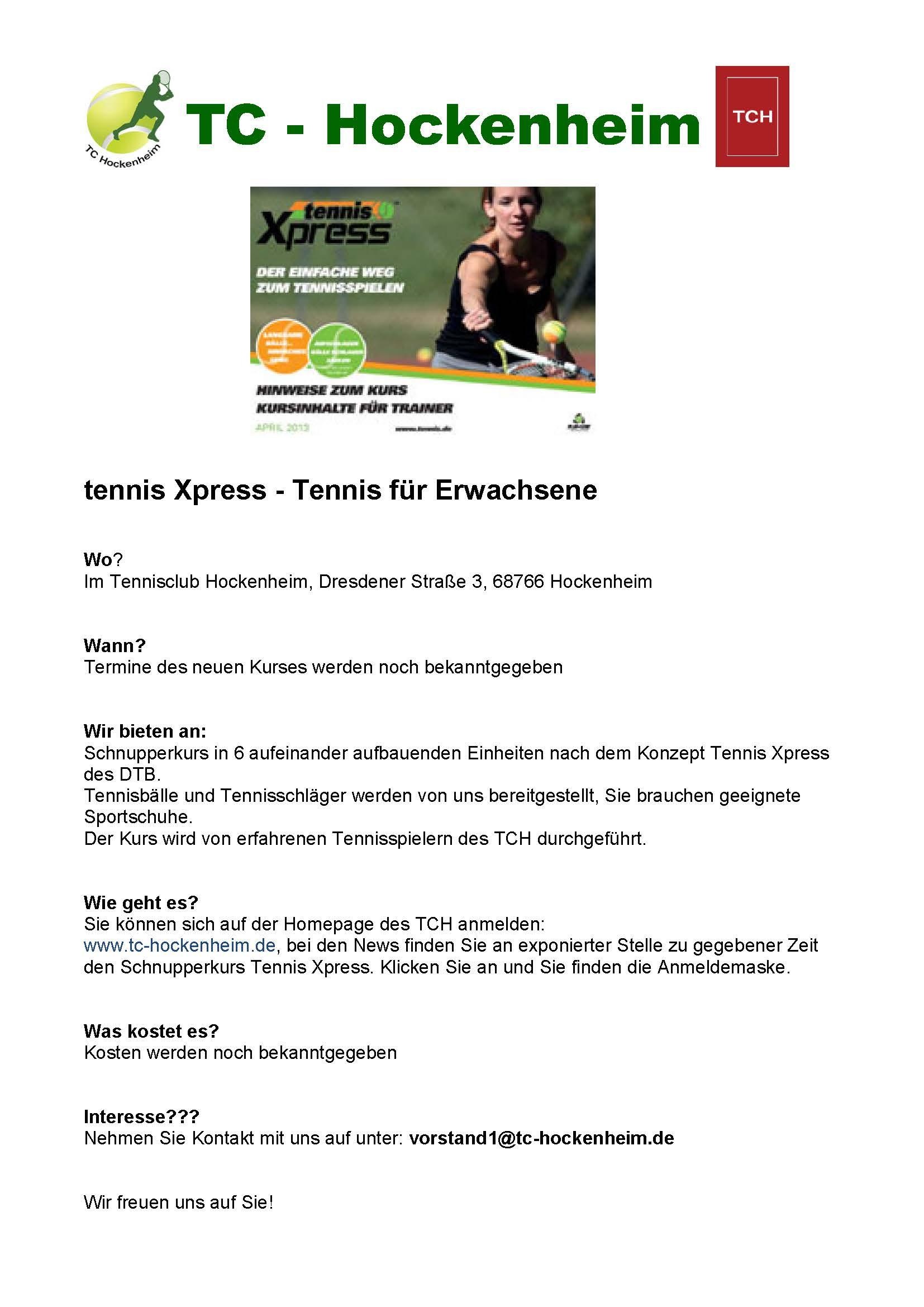 tennis Xpress 2018