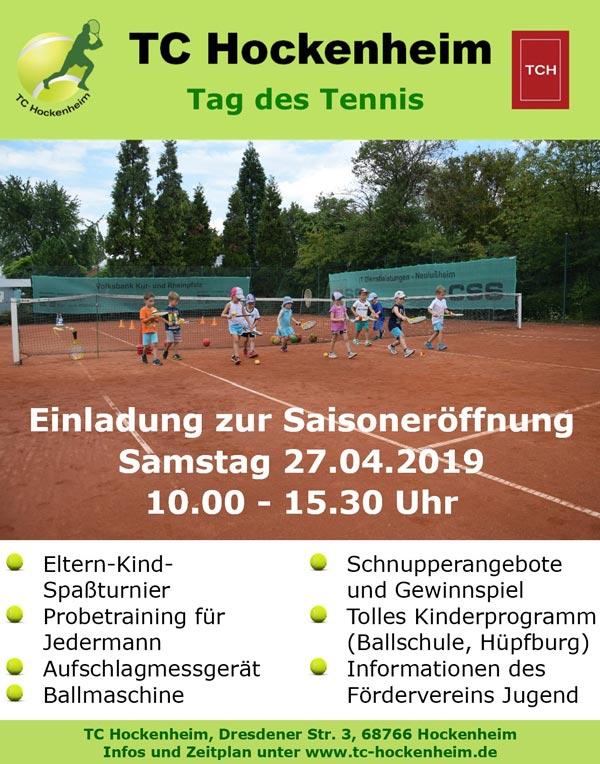Bild Tag des Tennis 2019