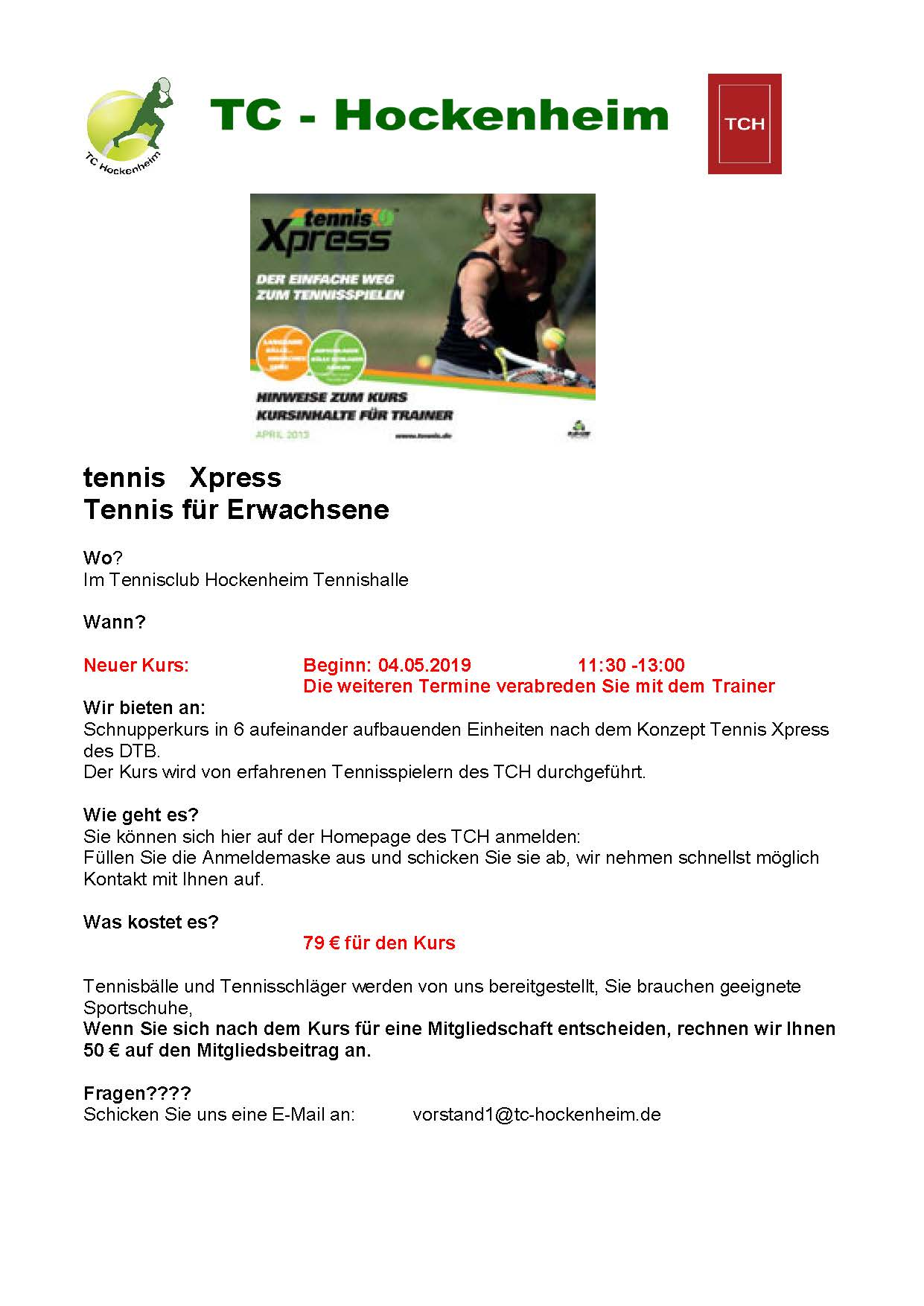 tennis Xpress 2019