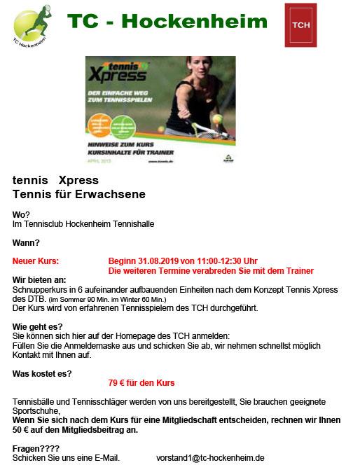 tennis Xpress 2019